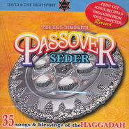 The Real Complete Passover Seder, Music CD  -     By: David & The High Spirit