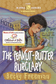 The Peanut-Butter Burglary - eBook  -     By: Becky Freeman
