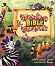 Adventure Bible Storybook - eBook  -     By: Catherine DeVries     Illustrated By: Jim Madsen