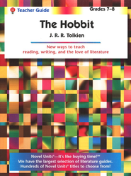 The Hobbit, Novel Units Teacher's Guide, Grades 7-8   -     By: J.R.R. Tolkien