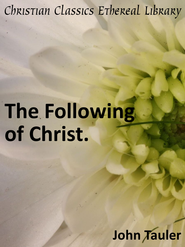 Following of Christ - eBook  -     By: John Tauler