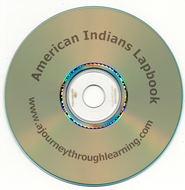 American Indians Lapbook CD-Rom   -