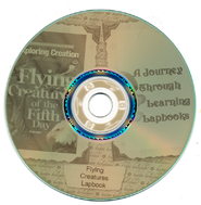 Zoology 1 Flying Creatures of the Fifth Day Lapbook CD-ROM   -