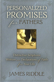 Personalized Promises for Fathers - eBook  -     By: James Riddle