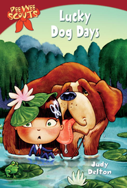 Pee Wee Scouts: Lucky Dog Days - eBook  -     By: Judy Delton