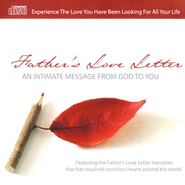 Father's Love Letter: An Intimate Message From God to You Outreach CD  -