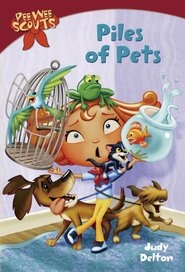 Pee Wee Scouts: Piles of Pets - eBook  -     By: Judy Delton     Illustrated By: Alan Tiegreen