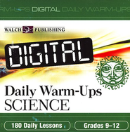 Digital Daily Warm-Ups, Science, Grades 9-12   -