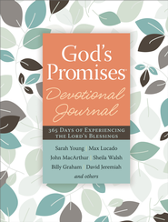 God's Promises Devotional Journal: 365 Days of Experiencing the Lord's Blessings - eBook  -     By: Jack Countryman