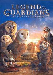 Legend of the Guardians: The Owls of Ga'Hoole, DVD   -