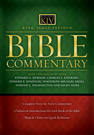 King James Version Commentary - eBook  -     By: Edward G. Dobson, Charles L. Feinberg, Edward E. Hinson, Woodrow Kroll