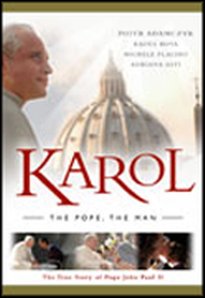 Karol: The Pope, the Man DVD  -