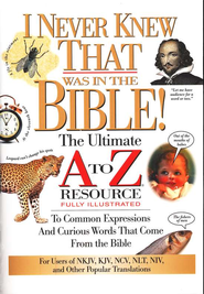 I Never Knew That Was In The Bible - eBook  -     Edited By: Martin Manser     By: Martin H. Manser, ed.