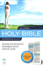 Find Love: NIV VerseLight Bible: Quickly Find Scripture Passages about God's Love - eBook  -