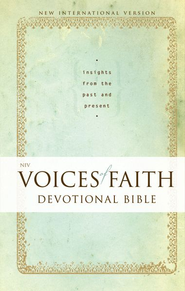 NIV Voices of Faith Devotional Bible: Insights from the Past and Present / Special edition - eBook  -     By: Zondervan Bibles(ED.)