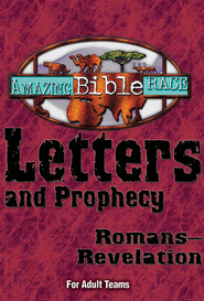 Amazing Bible Race - For Adult Teams (Romans-Revelation) - eBook  -
