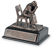 Praying Woman Sculpture, Small  -
