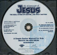 It's All Because of Jesus, Split-Track, Acc CD   -