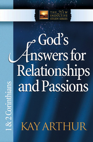 God's Answers for Relationships and Passions: 1 & 2 Corinthians - eBook  -     By: Kay Arthur