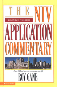 Leviticus & Numbers: NIV Application Commentary [NIVAC]   -     By: Roy Gane