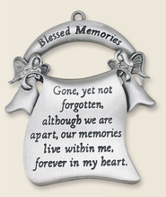 Blessed Memories Ornament  -