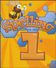 BJU Spelling Teacher's Edition, Grade 1 (Second Edition)    -
