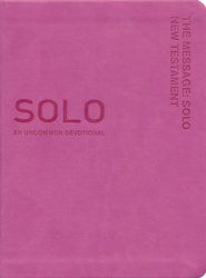 The Message: Solo New Testament, Pink  -     By: Eugene H. Peterson