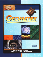 BJU Geometry Activity Manual Student Edition, Grade 10  Third Edition  -