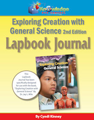 Apologia Exploring Creation With General Science 2nd Ed Lapbook Journal - PDF Download  [Download] -     By: Cyndi Kinney