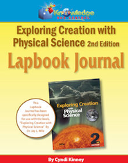 Apologia Exploring Creation With Physical Science 2nd Ed Lapbook Journal - PDF Download  [Download] -     By: Cyndi Kinney
