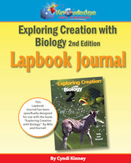 Apologia Exploring Creation With Biology 2nd Ed Lapbook Journal - PDF Download  [Download] -     By: Cyndi Kinney