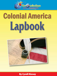 Colonial America Lapbook - PDF Download  [Download] -     By: Cyndi Kinney