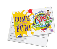 Jeff Slaughter VBS World Tour:  VBS Post Cards (100 Pack)  -