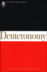 Deuteronomy: Old Testament Library [OTL]  -     By: Gerhard von Rad