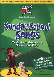 Sunday School Songs on DVD   -     By: Cedarmont Kids