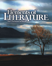 BJU Elements of Literature Grade 10 Student Text (Updated Edition)    -