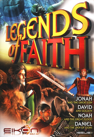Legends of Faith - Issue 1: Jonathan / David / Noah / Daniel - PDF Download  [Download] -     By: Phil Houghton, Graeme Hewitson, Eikon Bible Art