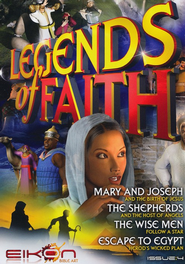 Legends of Faith - issue 4: Christmas Issue - PDF Download  [Download] -     By: Phil Houghton, Graeme Hewitson, Eikon Bible Art