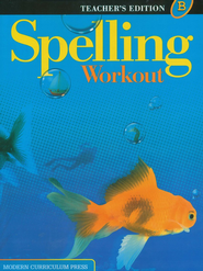 Spelling Workout 2001/2002 Level B Teacher Edition   -