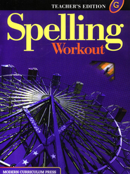 Spelling Workout 2001/2002 Level G Teacher Edition   -