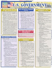 U.S. Government, QuickStudy &#174 Chart       -     By: Homeschool