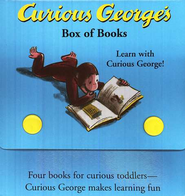 Curious George's Board Books Pack               -     By: H.A. Rey