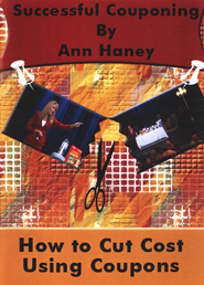 Successful Couponing: How to Cut Cost Using Coupons DVD   -     By: Ann Haney