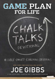 Game Plan for Life CHALK TALKS Devotional - eBook  -     By: Joe Gibbs