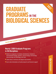 Peterson's Graduate Programs in the Biological Sciences 2012 - eBook  -     By: Peterson's