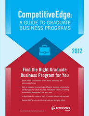 CompetitiveEdge: A Guide to Graduate Business Programs - eBook  -     By: Peterson's