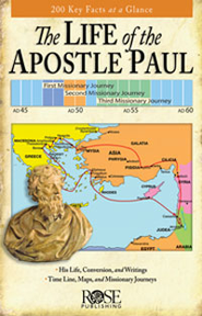 The Life of the Apostle Paul, Pamphlet - eBook   -     By: Rose Publishing