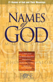 Names of God, Pamphlet - eBook   -     By: Rose Publishing