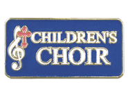 Children's Choir Lapel Pin  -