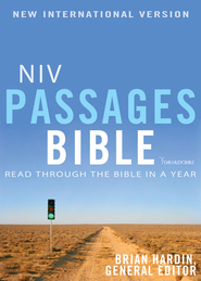 NIV Passages Bible: Read through the Bible in a Year / Special edition - eBook  -     By: Brian Hardin
